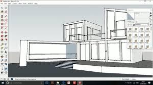 Architectural Design Animation In Blender Sketchup Building Architectural Design