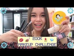 you 11 47 200k 20 makeup challenge by laraskurnia
