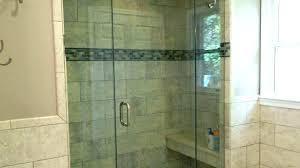 half glass shower door for bathtub remarkable