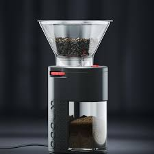 The conical framework of the regular oxo burr offers a tapered design with 15 various grind settings. The Bodum Bistro Electric Burr Grinder Helps Preserve The Coffee Bean S Intrinsic Flavor And Aroma By Crushing Burr Coffee Grinder Bodum Coffee Coffee Grinder