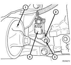 2006 wrangler 2 4 crankshaft postion sensor Jeep TJ Headlight Wiring Harness at Ckp Sensor Wiring Harness Jeep Tj