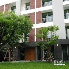 Front view of Baanchert Apartment ? . .... - บ้านเชิด อพาร์ทเมนท์ -  Baanchert Apartment