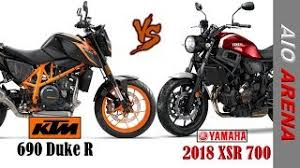 2018 ktm 690 duke. contemporary ktm ktm 690 duke r vs 2018 yamaha xsr 700 intended ktm duke