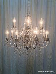 medium candle chandelier