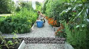 Kitchen Garden International Drummondvilles Front Yard Vegetable Garden Youtube