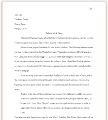 1 Page Essay Format Formatting Your Mla Paper Mla Style Guide 8th Edition