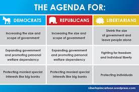 Republican Vs Democrat Differences Chart Www