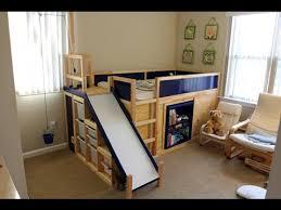 Bunk bed with slide ikea Ikea Hackers Youtube Faq For Secret Room Slide Bed Ikea Hack Youtube