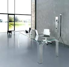 contemporary desks for home office. Alluring Glass Home Office Desk 22 Furniture Modern New Partitions Contemporary Desks For