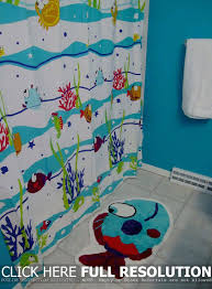kids fish bathroom decor photo 3 of 7 bathroom shower curtain for kids bathroom decor beautiful kids fish bathroom