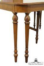 Antique ROCKFORD Furniture 72u2033 Hepplewhite Style Dining Table