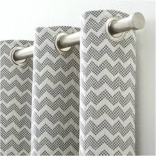 chevron curtains grey grey chevron curtains crate and barrel gray chevron curtains target