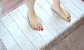 memory foam bath runners rug collection cushioned runner x