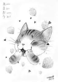 かわいい猫イラストならおまかせイラストレーター翼の笑顔になれる