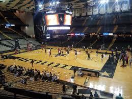 Vanderbilt Memorial Gym Seating Chart Memorial Gymnasium Section 2g Rateyourseats Com