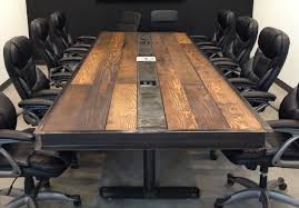 industrial furniture table. Industrial Vintage Conference Room Table Struxuresupplyco Furniture U