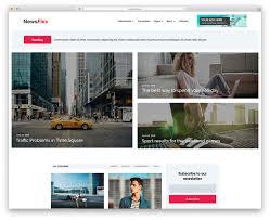 31 Best Free News Website Templates 2019 Colorlib