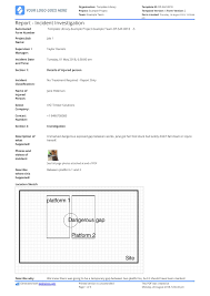 Basic Incident Report Template Free Incident Report Template Better Than Word Excel Pdf Use It Now