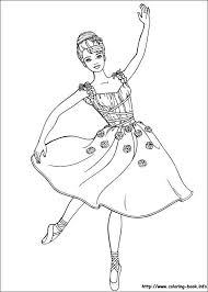 Ballerina Coloring Page Ballerina Coloring Pages Barbie