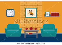 furniture the brick. house design lounge with furniture and brick wall the i
