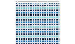 blue mosai shower curtains asda ready made curtains