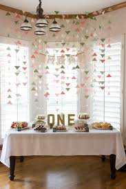1st Birthday Decoration Ideas At Home For Boy  Image Inspiration 1st Birthday Party Ideas Diy