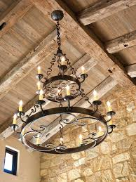 wrought iron chandeliers rustic large round chandelier australia