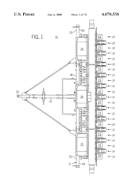 patent us6070538 modular agricultural implement control system patent drawing