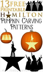 Pumpkin Carving Pattern Impressive 48 Hamilton Pumpkin Carving Patterns And Printable Stencils