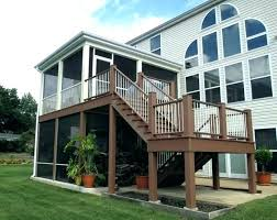 how to build a screened in porch how to build a screened porch on a deck