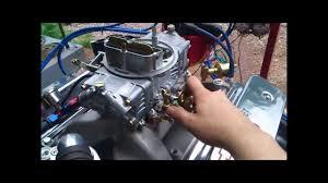 G.C.T Motor Chevy 327 Vortec - YouTube