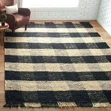 jute rug target black jute rug bluff black and ivory plaid jute rug black jute rug
