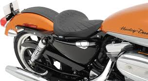 drag specialties diamond stitch bobber style solo seat 10 16