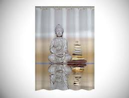 unique shower curtains. Buddha-Shower-Curtain - Unique Shower Curtain Curtains R