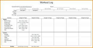 Exercise Log Book Template Old Method Workout Log Book Training Log