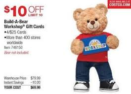 Costco Wholesale Black Friday 4 25 Build A Bear Workshop Gift