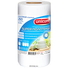 "<b>Бумажные полотенца</b> ""<b>UNICUM</b>"" <b>Big</b> Roll в рулоне 260 листов ..."