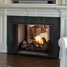 unvented gas fireplace lo rider see through firebox ventless gas fireplace logs with insert unvented gas fireplace