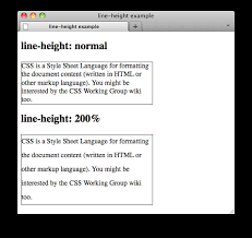 css number format example css properties line height w3c wiki