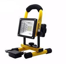 waterproof 30w led flood light portable spotlights rechargeable outdoor led work emergency light