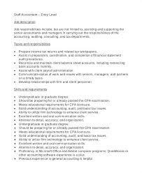 Payroll Accounting Job Description 15 Payroll Accounting Job Description Resume Cover