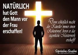 Gott Schuf Mann Vor Frau Lustige Sprüche Bilder