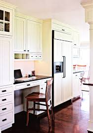 kitchen office desk. However, If The Desk Top Is An Extension Of Kitchen Counter, (see Photo Below) In Order To Look Aesthetically Pleasing, It Will Need Be Same Office