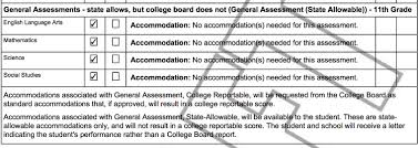 Updates/changes To The Eleventh Grade State Assessment Options ...