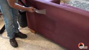 Dirty Microfiber Sofa Steam Cleaning