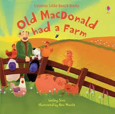 Old Macdonald Had A Farm BOARD Lesley Sims | Hungerford Bookshop