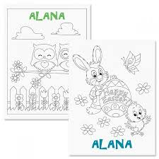 Personalized Easter Coloring Book Current Catalog