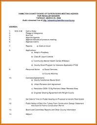 Sample Agenda Templates Non Profit Board Meeting Agenda Template
