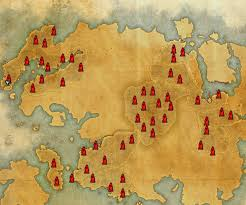 map the elder scrolls online addons curse Eso Map Eso Map #14 eso map guide