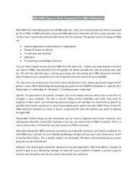 Mba Sample Essay Write For Me Essays Kellogg Komphelps Pro